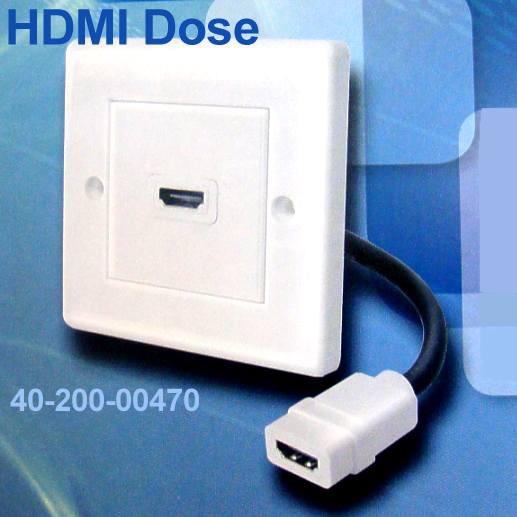 HDMI Dose Unterputz mit 1x Buchse