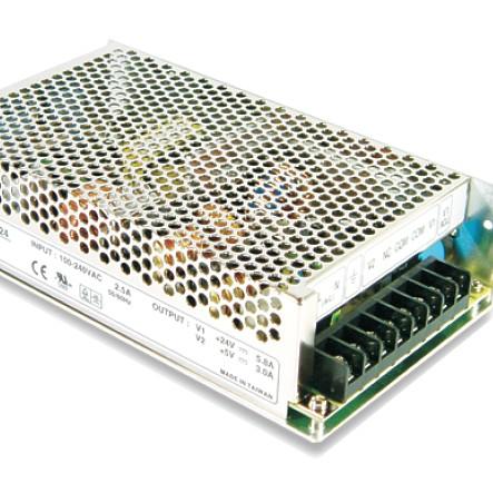 12V 11A Netzteil mit Akku Anschluss Ladefunktion und Netzausfallschutz DC USV