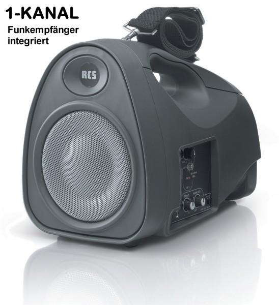WPP050 Mobile Beschallungsanlage mit 1Kanal Funkempfänger Akku