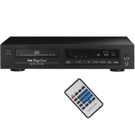CD MP3 Player CD-156 Single- oder Rackeinbau mit Fernbedienung