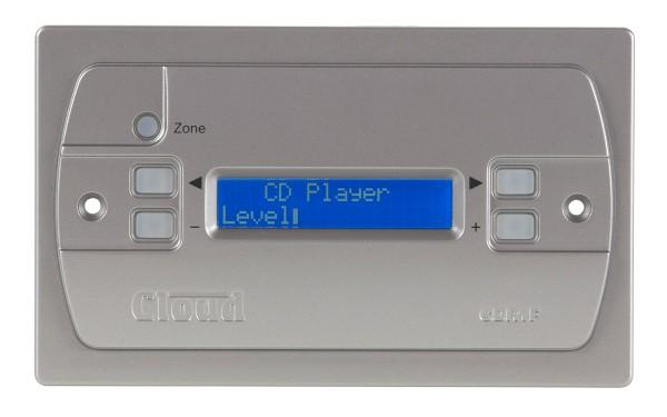 Multi Zonen LCD Bedienteil CDR1-F zu DCM1 Silber