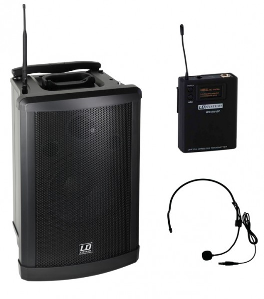 Mobile Musikanlage Roadman 102 mit CD Headset Akku