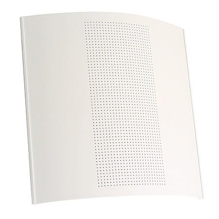 Design Wandlautsprecher WL8/2 T6 mit 100V Trafo Weiss