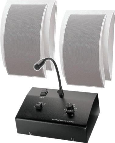 Durchsagesystem für Praxen und Büros SET-01