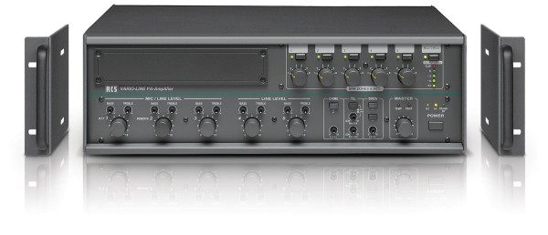ELA Verstärker 360W 5-Zonen Regelung VLA240C 5Eingänge 100V und 4-8ohm ELA Zentrale