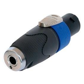 Speakon Adapter Stecker auf 6,3mm Klinke