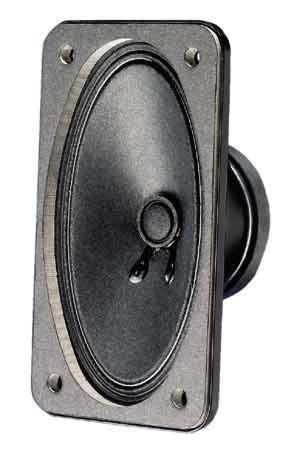 SL713 15W 4ohm oval 130mm Breitbandlautsprecher 75x130mm