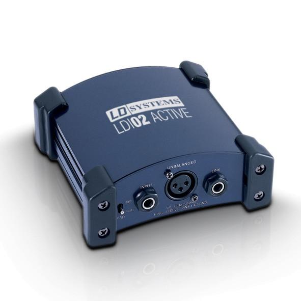DI Box XLR XLR Audiotrenntrafo Klinke XLR Massetrenner Masse Entkoppler