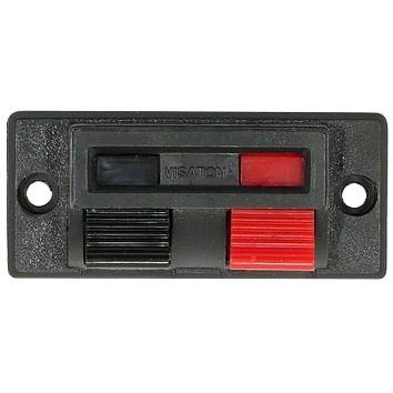 Lautsprecher Anschlussklemme 2pol 54x24mm (5189)