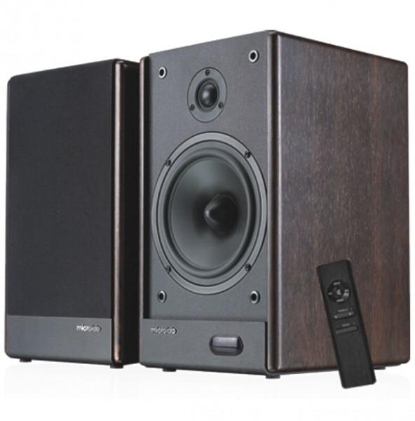 Aktiv Lautsprecher 180W Holzgehäuse mit Verstärker