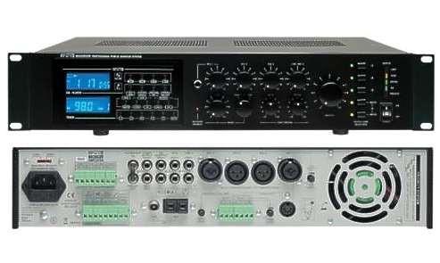 ELA Zentrale 4Zonen 240/360W Verstärker mit CD MP3 Player und UKW