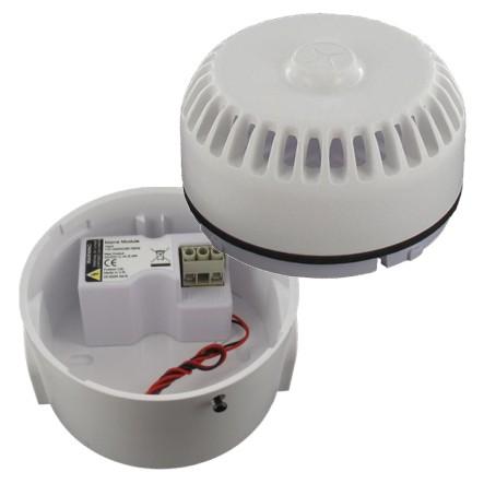 Sirene 230V oder 24V mit 32 wählbaren Tönen BASE-RORD-WS Signalgeber Alarmgeber