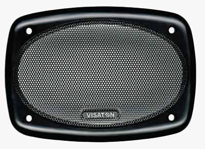 Lautsprechergitter oval 166x114mm Kunststoff 4645