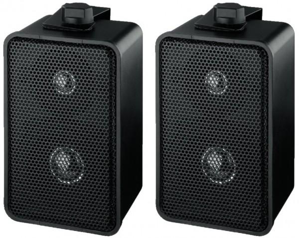 Lautsprecherboxen 2x 50W mit Halter MKS42/SW Paar