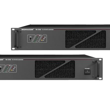 ELA Verstärker PA-1242 mit 240 bzw 340W bei 230V und 24V