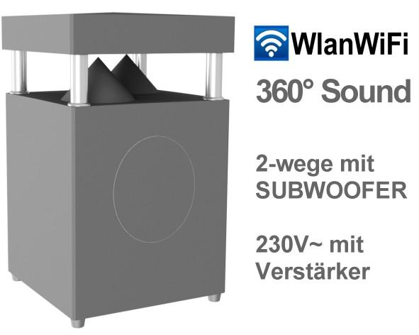 Gartenlautsprecher WLAN WiFi Gartenlautsprecher 220VAC Version