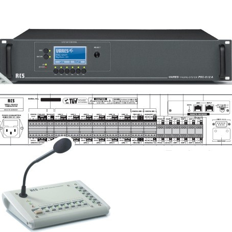 Audio Matrix 12Zonen RUFSYSTEM Basis Unit
