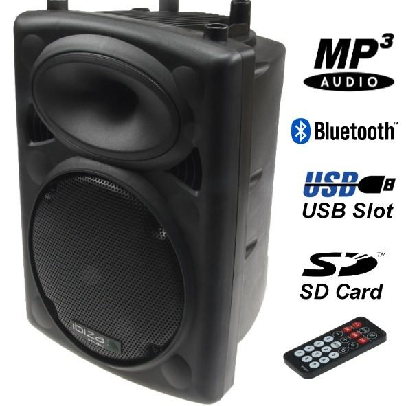 Mobile Musikanlage 10z 400W mit USB SD MP3 Player Bluetooth