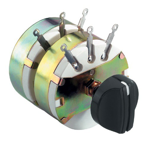 Lautsprecherregler STEREO 2x 100/500W Pegelsteller Lautstärkeregler