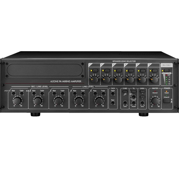 ELA Zentrale 6Zonen 360W Verstärker VLZ6240A