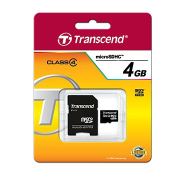 4GB micro SDHS Speicher