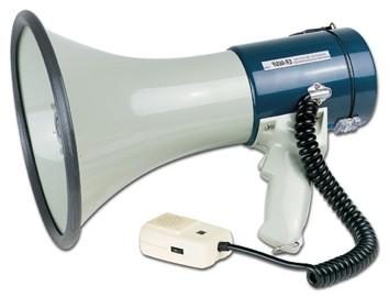 Megafon TM27 25W Megaphon mit Kabelmikro