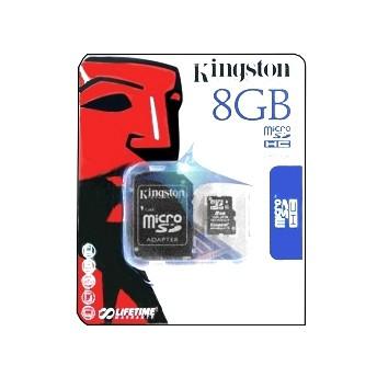 8GB SD Karte Micro SDHC mit SD-Adapter