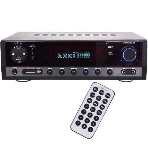 Verstärker mit Bluetooth USB SD Player UKW Tuner 5Kanal