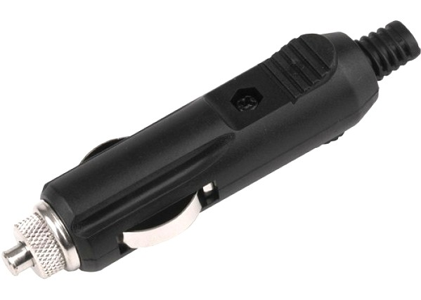 Zigarettenanzünder Stecker mit Sicherungshalter 6x32mm