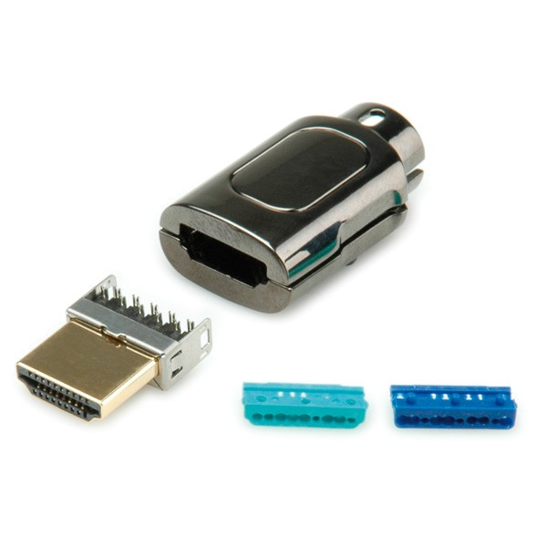HDMI Stecker Do-It-Yourself Metall