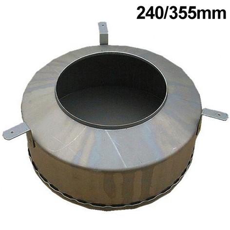 355mm Betoneingiesstopf für Deckenlautsprecher in Beton
