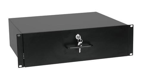 483mm Schublade mit 3HE Tiefe 400mm ( 19zoll ) Rackschublade