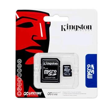 4GB SD Karte Micro SDHC mit SD Adapter