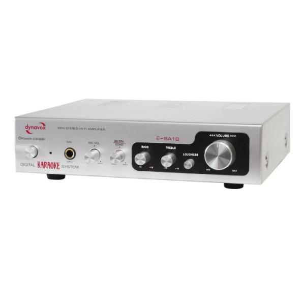 Verstärker 2x75 Watt Digital Stereo ESA18 Silber