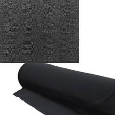 Akustikstoff Bespannstoff 50cm breit Schwarz Meterware schalldurchlässiger Stoff