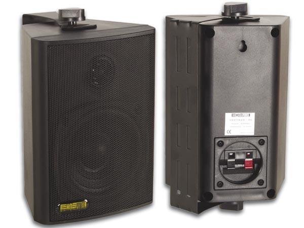 Lautsprecherboxen M2B mit Bügel Schwarz