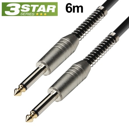 6m Klinkenkabel 6,3mm Klinke Stecker Stecker NF-Kabel