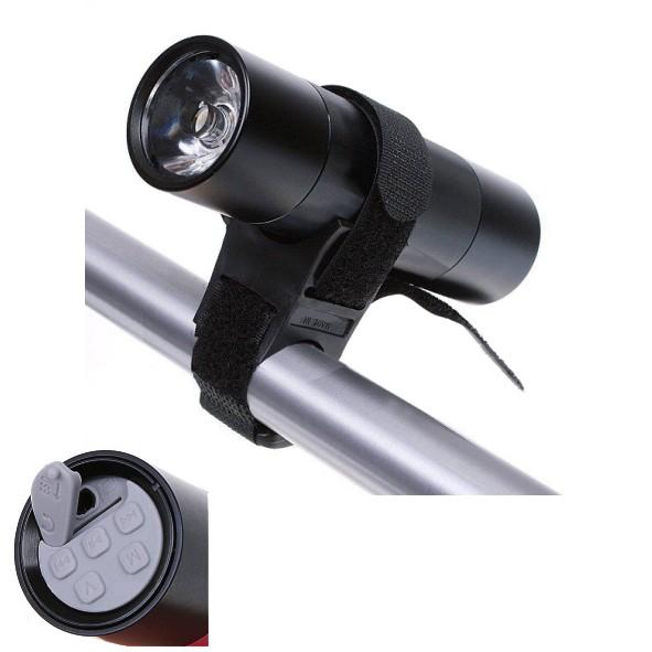 MP3 Player mit Lautsprecher LED Taschenlampe UKW Radio