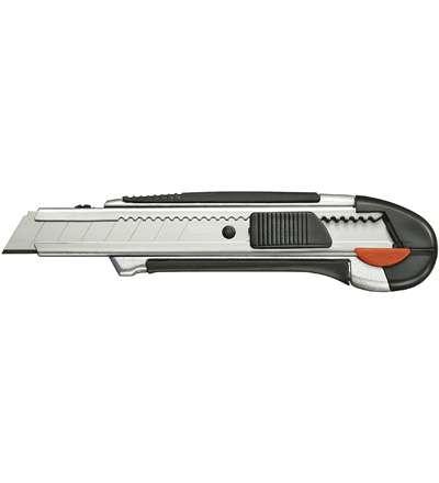 Messer Mehrzweckmesser Profi ALU 18mm Klinge