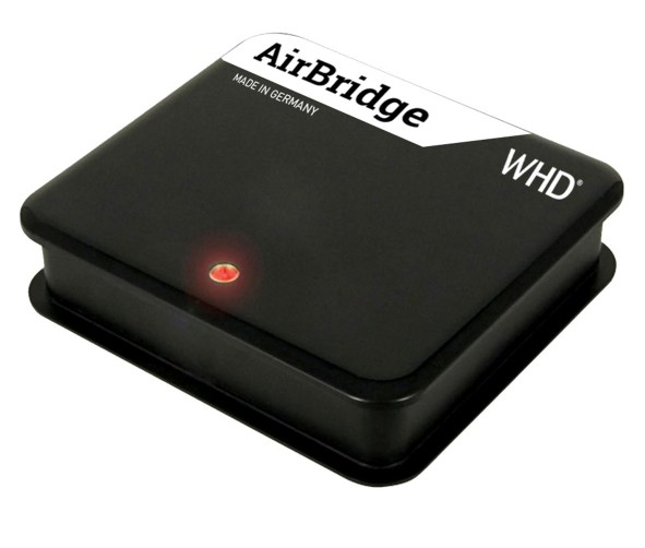IP Audio WHD Airbridge Tune Line Out Klinke SPDIF Toslink