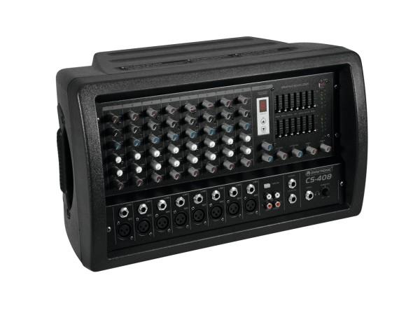 Mischpult 8Kanal mit 660 Watt Verstärker CS408
