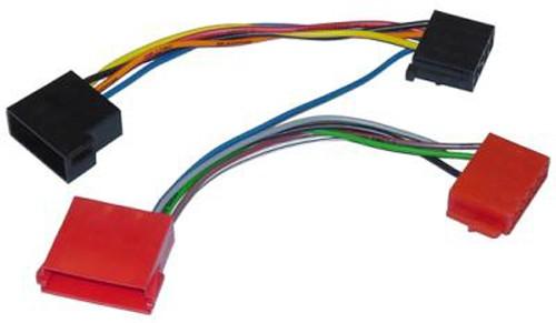 Autoradio Adapter ISO Mini-ISO z.B. Blaupunkt Audi A4 A6 A8