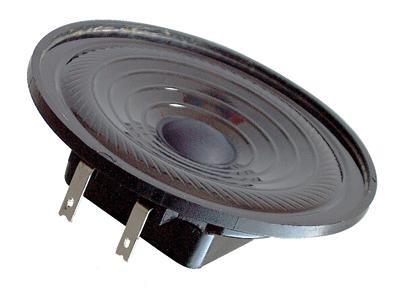 64mm Lautsprecher 50Ohm 3W IP65 Kleinlautsprecher