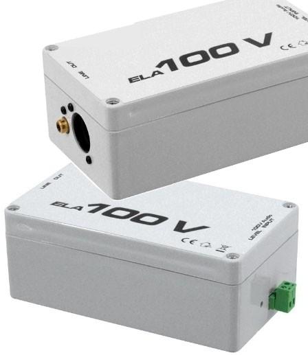Wandler 100V Adapter ELA auf Cinch XLR Massetrenner Masse Entkoppler