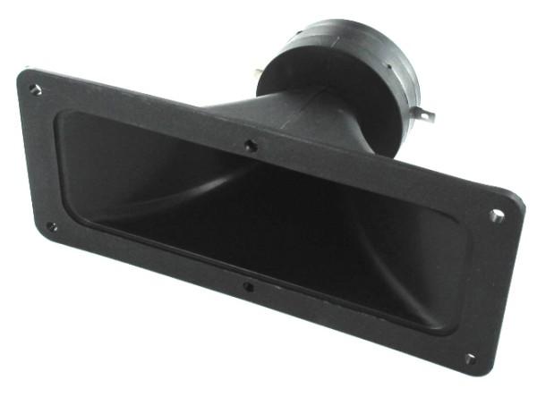 Piezo Horn Hochtöner 187x80mm 300W Piezolautsprecher