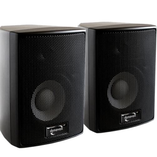 satellitenlautsprecher boxen 301 2x90w schwarz. Black Bedroom Furniture Sets. Home Design Ideas