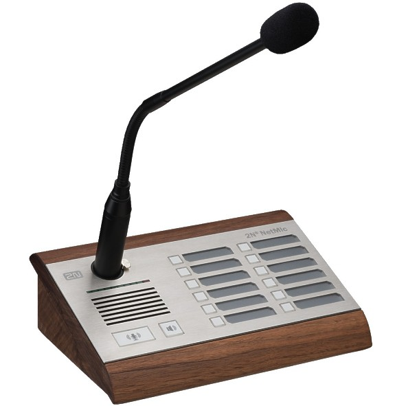 IP LAN Audio IP Mikrofon NET-MIC Schwanenhals Mikrofon