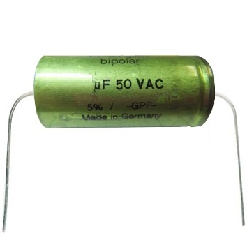 1,5uF Tonelko 50Vac axial