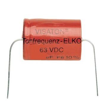 680uF Tonelko 63Vdc axial