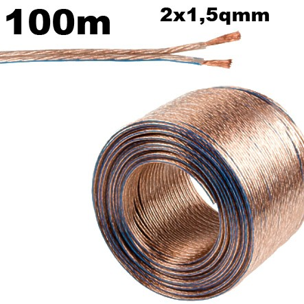 Lautsprecherkabel 2x1,5qmm